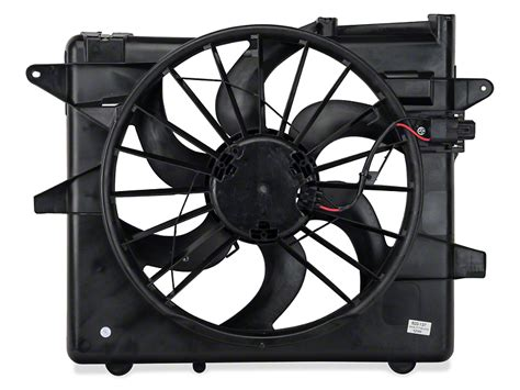 mustang radiator fan not working opr mustang radiator fan and shroud assembly 102002 05 14