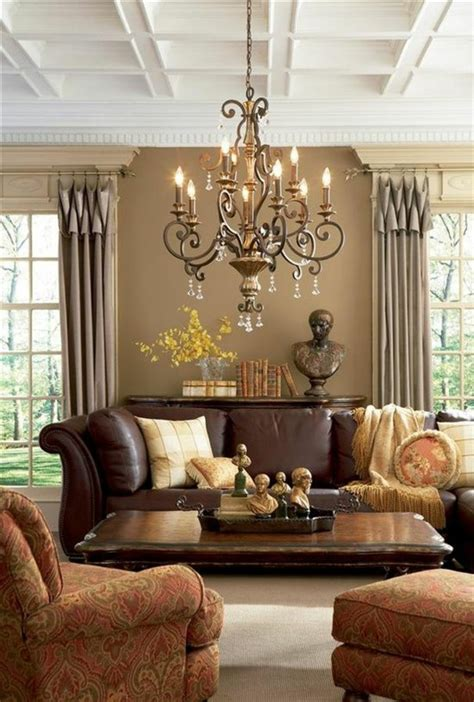 Brown Living Room Wall Colors by Brown Wall Color Discover The Harmonious Effect Of The