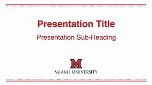 university of miami powerpoint template bolducinfo With university of miami powerpoint template