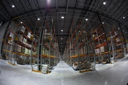 Balzac Fresh Food Distribution Center   Concrete Floors/LE