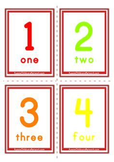 Polkadot Floor Numbers  Numbercounting Cards  Pinterest  Numeral Numbers, Number Words And