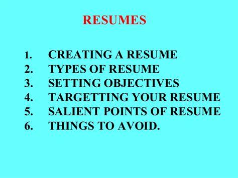 cv resumes
