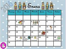 Calendario 2016 con efemérides incluidas Listo para