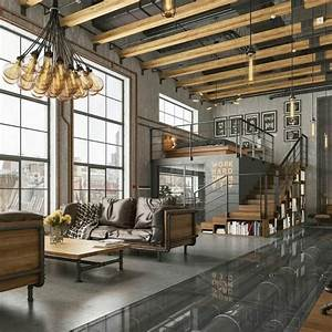 Get Inspired With These Incredible New York Industrial Lofts   U2013 Inspirations