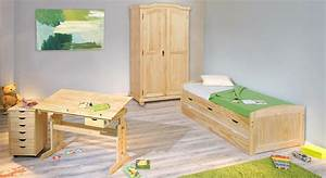 Kinderbett Mit Bett Zum Ausziehen : ausziehbett in 90x190 cm aus massivholz kinderbett ben ~ Bigdaddyawards.com Haus und Dekorationen