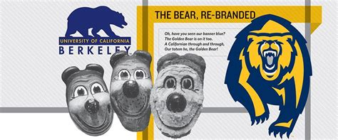 bear branded cal replaces mascot