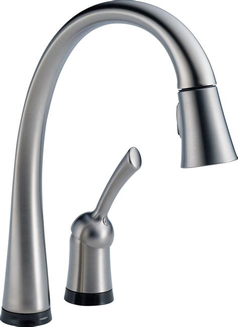 kitchens faucet delta 980t dst pilar single handle pull kitchen