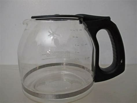 These filters are available at most grocery stores. Mr. Coffee 12 Cup Replacement Carafe Pot Black with Lid CA1-111 - UNUSED | eBay