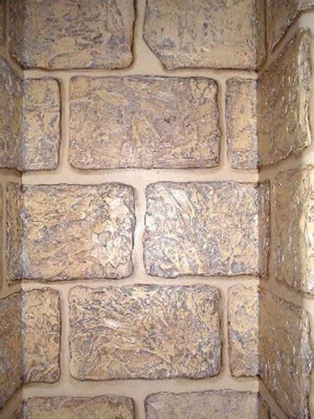 plaster stencil rough bricks walls stencils plaster
