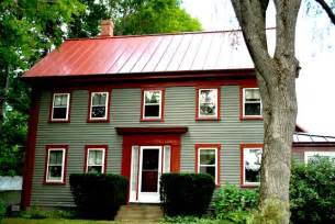 House Colors with Red Roof