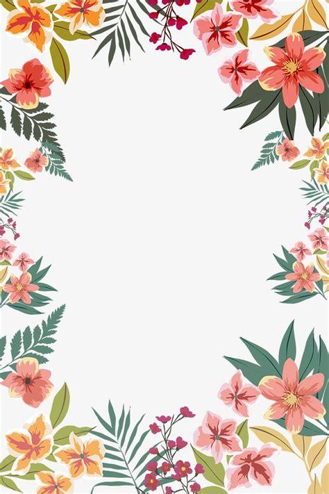 summer flower border shape backgroundswallpapers pinterest fondos pintura  dibujo