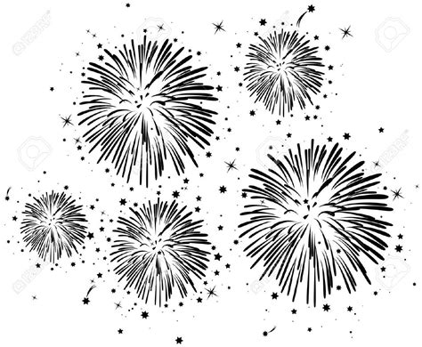 fireworks stock illustrations cliparts  royalty