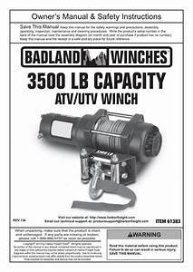 Badland 3500 Winch Wiring Diagram