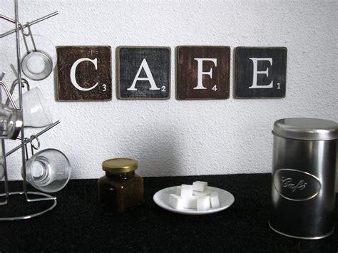lettres décoratives cafe pour une décoration murale de