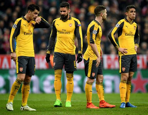 One Arsenal player went to console away fans at Bayern ...