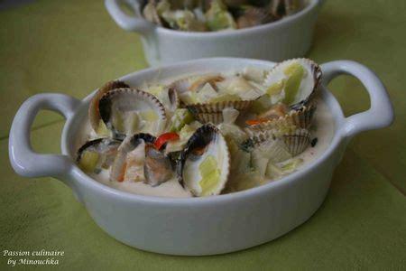 cuisiner des coques cassolettes de coques culinaire by minouchka