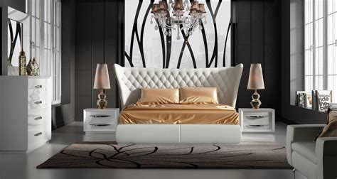 Stylish Leather Luxury Bedroom Furniture Sets Charlotte