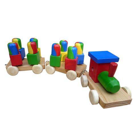kereta putar pelangi pondok buah hatitoko perlengkapan anak mainan kayu tas anak mainan