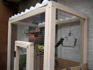 How to make your own bird cage or mini aviary - YouTube