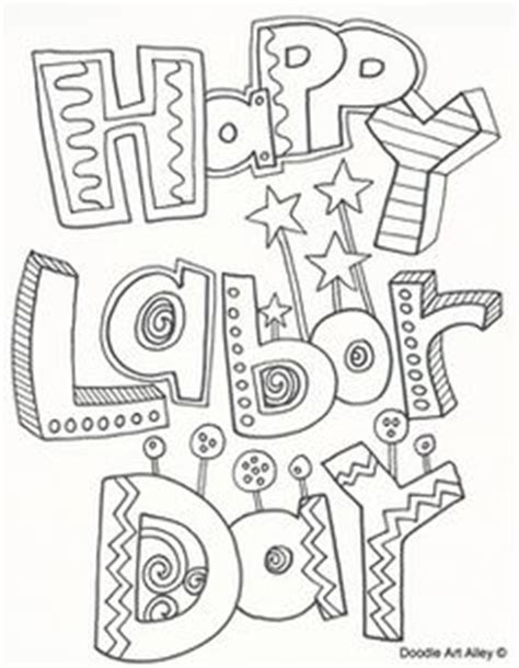 labor day coloring pages day care themes pinterest