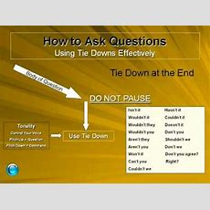 Rv Sales Training  How To Use Tie Down Questions Part One Youtube