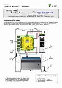 Paxton Net 2 Wiring Diagram