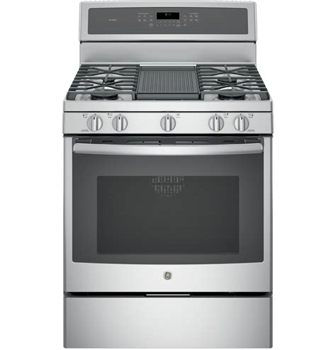 ge profile stainless gas convection range pgbzejss