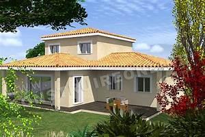 vente de plan de maison With plan maison demi niveau 14 vente de plan de maison avec terrain en pente