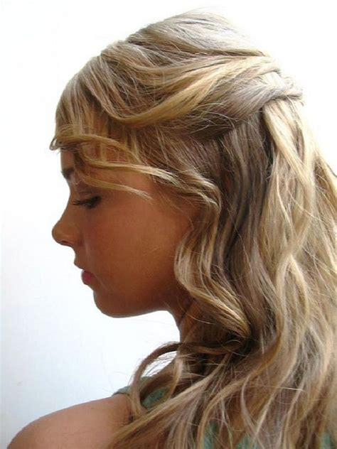 easy hairstyles for long curly hair barbie doll