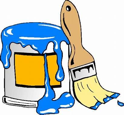 Paint Brush Clip Clker Clipart