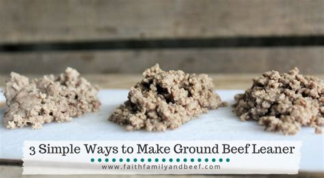ways to cook ground beef blog faith family beef