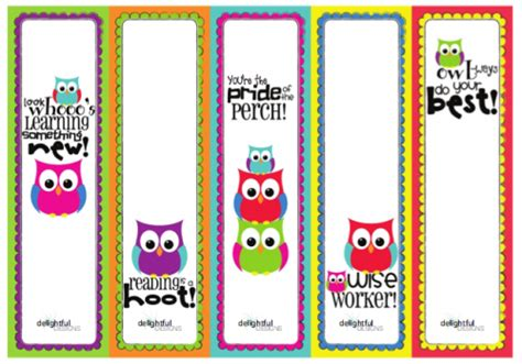 free printable bookmarks 50 of the best back to school free printables