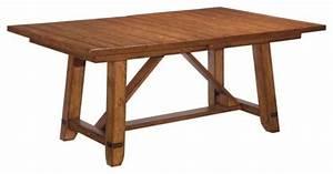 Broyhill Attic Heirlooms Heritage Trestle Table 4177