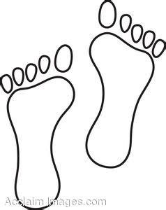 feet print clipart clipground