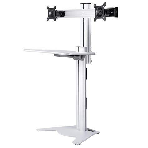height adjustable standing desk riser adjustable height sit stand work computer double monitor