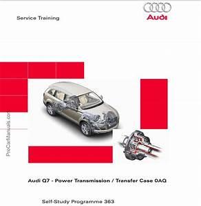 Self Study Program 363 - Audi Q7