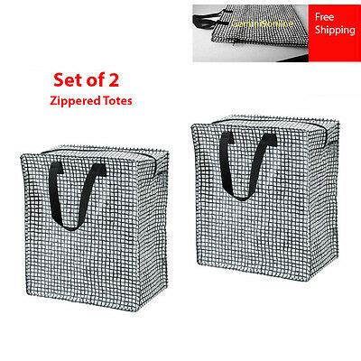 Ikea Zipper Bags Travel Shopping Bags Collection On Ebay