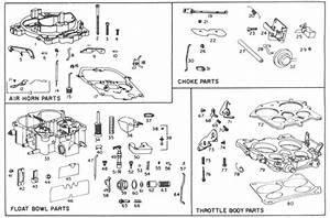 Parts  Quadrajet Parts