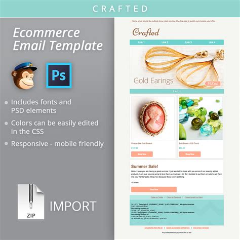 Mailchimp Newsletter Templates Email Newsletter Template Mailchimp Email Templates On