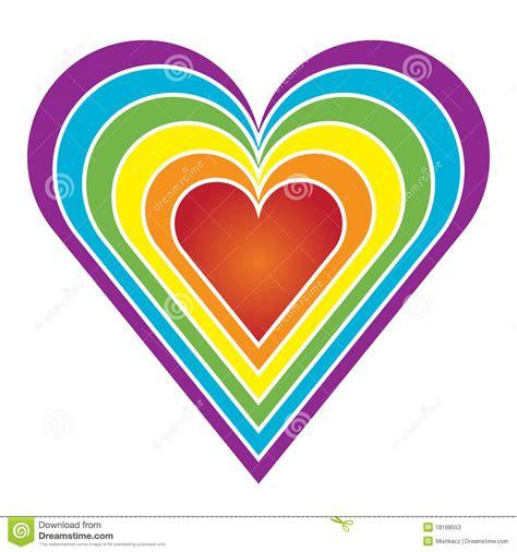 tapis aquadoodle arc en ciel coeur d arc en ciel illustration de vecteur illustration du color 233 18168553