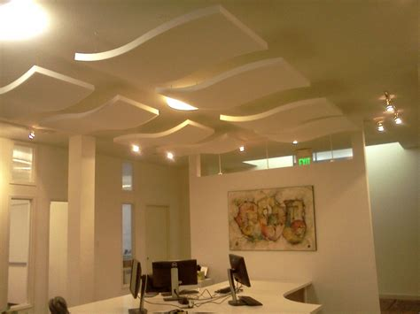 Hanging From Ceiling by Acoustic Panels Hanging From Ceiling Office Inspiration