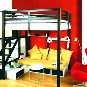 Lit 1 Place Mezzanine : lit mezzanine 2 places but fly lit mezzanine adulte 2 places bois ~ Melissatoandfro.com Idées de Décoration