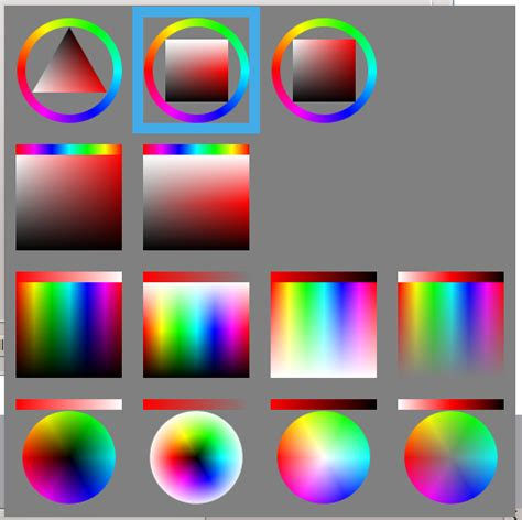 tirangular color selector paintstormstudio com
