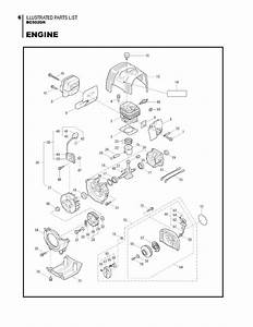 Maruyama Parts Bc5020h Engine