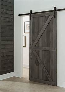 get a farmhouse look with a barn style sliding door in With barn style door locks