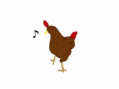 Chicken Dance Animation Dribbble Illustration