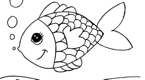 Dessin Pour Les Enfants De Poisson Coloriage A Imprimer