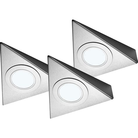 kitchen cabinet led lighting kits sensio led low voltage triangle cabinet light kit 9606