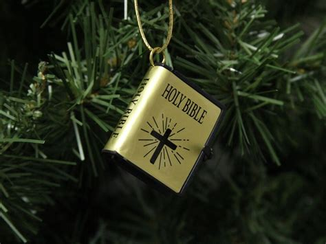 christmas holy bible vakyam pictures small holy bible ornament style 2 ebay