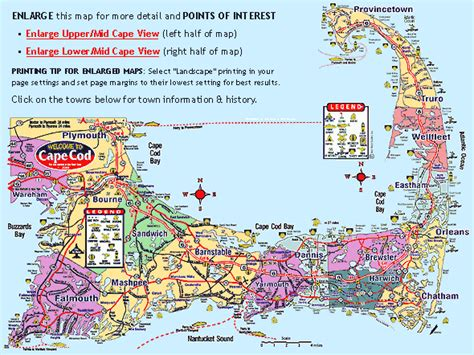 Cape Cod Map  Google Search  Camping The Forces Of
